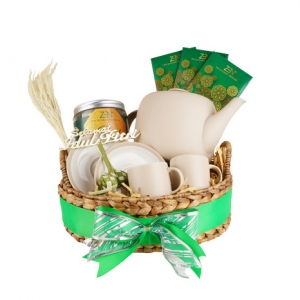 Lebaran Hampers Series – Purity Tea Set