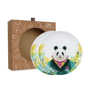 Animal Spring Series – Salad Plate Panda [2 PCS + Box]