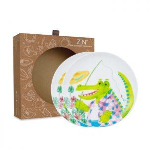 Animal Spring Series – Salad Plate Croco [2 PCS + Box]
