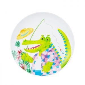 Animal Spring Series – Salad Plate Croco