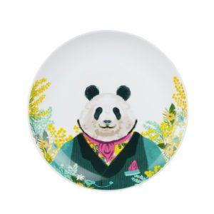 Animal Spring Series – Salat Plate Panda