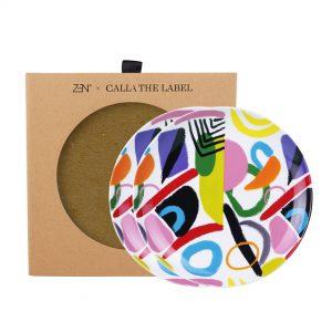 Zen X Calla The Label Series 2 Piring Salad Kaai Deff 2 pcs + Box