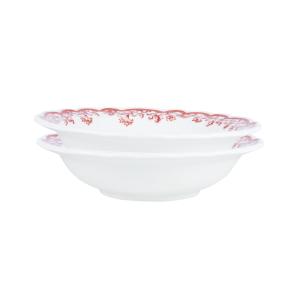 Earth Garden Burgundy – ZEN Mangkuk / Bowl Keramik (2 pcs)