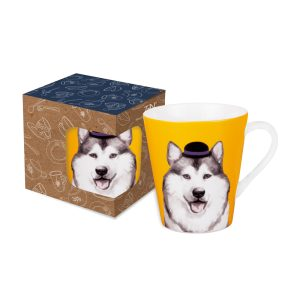 Cute Glamorous Pet Series – Mug Emphatic Husky