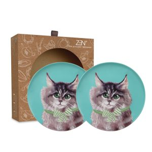Cute Glamorous Pet Series – Salad Plate Cuddly Cat